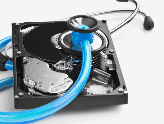 Recovering data from a hard drive